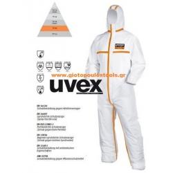Φόρμα προστασίας M.X UVEX 4B OVERALL.4/5/6