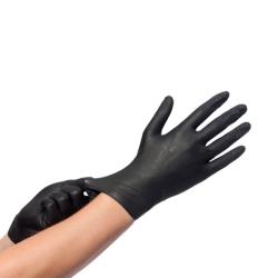 Γάντια Μάυρα Latex